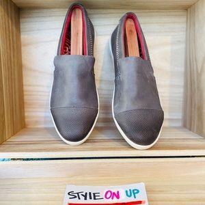 Olukai Alohi Loafers Taupe Brown Leather Flats
